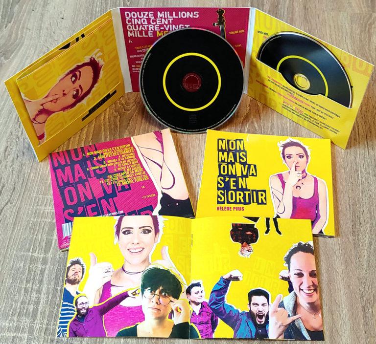 Digifile CD 3 volets Livret