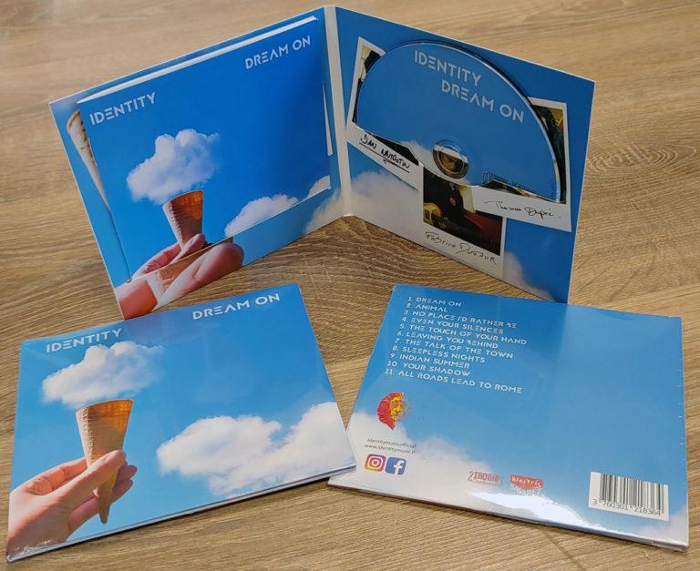 Pressage CD Digifile