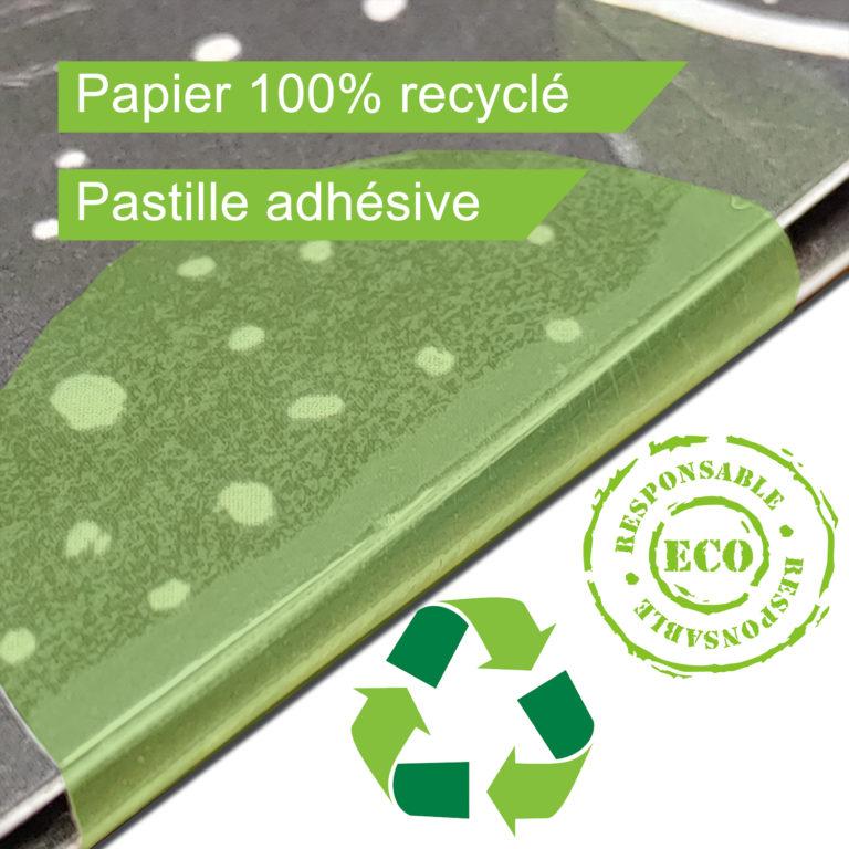 Papier 100% recyclé